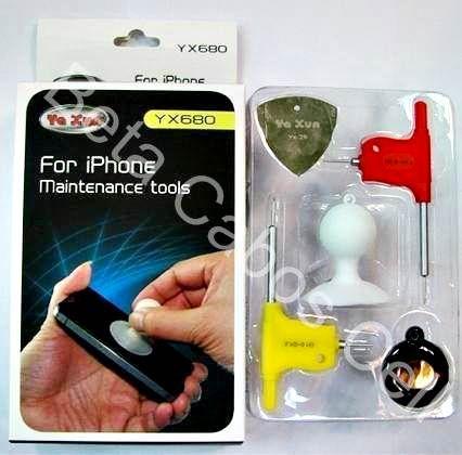 Kit Ferramentas Chaves iPhone 4 4s 5 5s Yaxun Yx680 YX 680 **