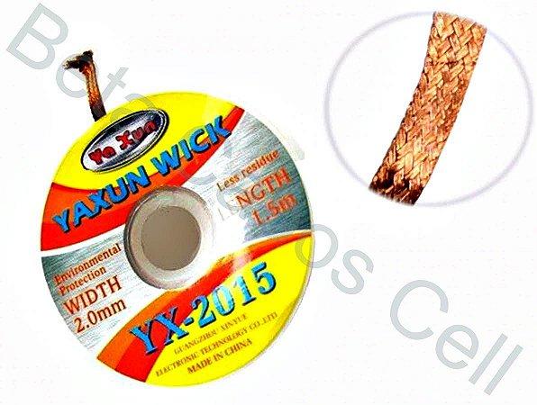 Malha Dessoldadora Yaxun Yx-2015 YX 2015 2mm X 1,5m Bga Reball
