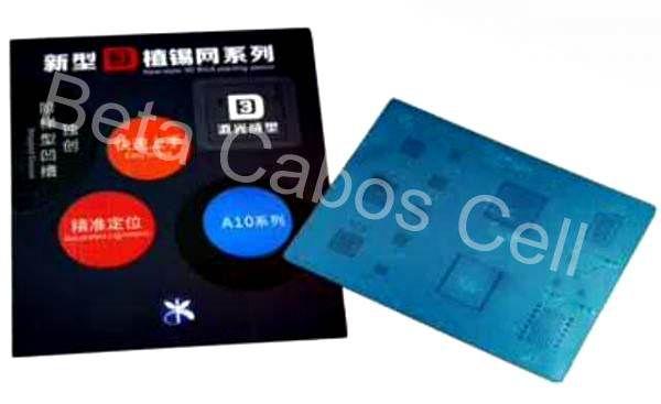 Stencil Bga 3D Compativel com IPhone 8 e 8Plus