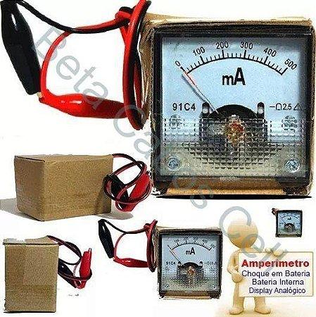 Amperimetro Analógico Miliamperímetro 91c4 0/500ma