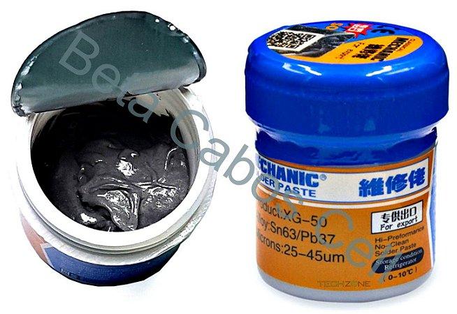 Solda Em Pasta Bga Smd Mechanic XG-50 XG 50 XG50 Retrabalho Reballing