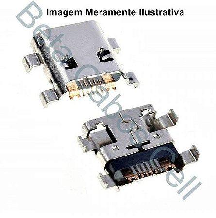 5 Pçs Conector USB para Samsung G-316 - 313 - 7392