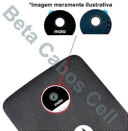 Lente Câmera Motorola Z Play