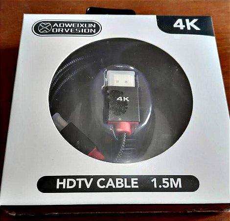 Cabo HDMI HDTV CABLE 1.5m Color