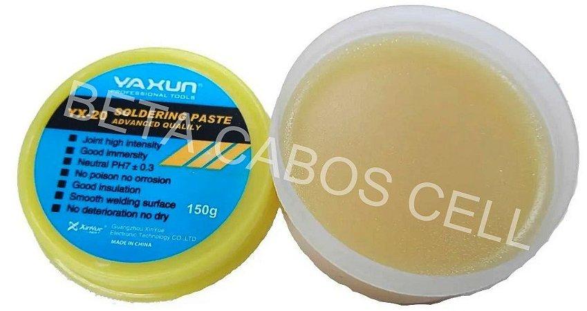 Pasta Para Solda Bga Smd Yaxun Embalagem Com 150 g. Original YX 20 YX20