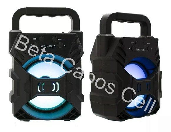 Caixa de Som  wks 1067 Portátil Bluetooth D***