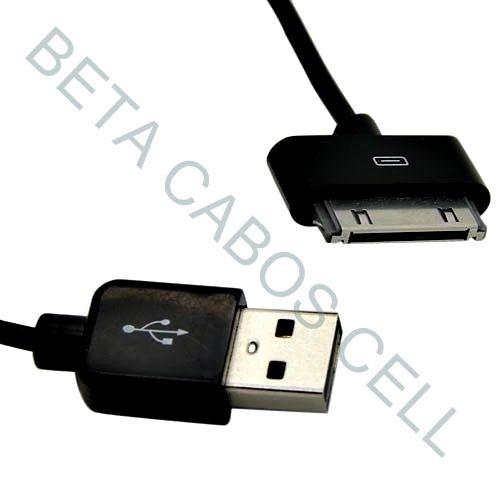 Cabo Para Tablet Samsung Gt-p3100 Galaxy Tab Usb Dados E Carga