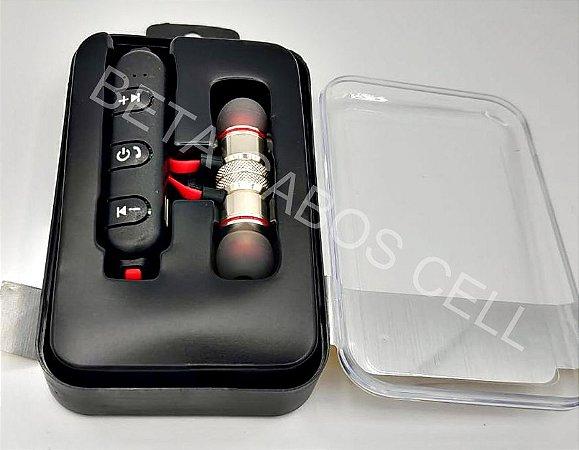 Fone De Ouvido Bluetooth Magnetic Type