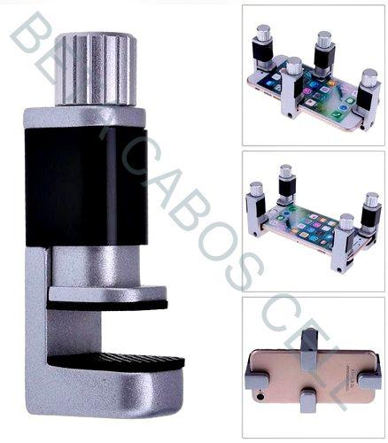 Fixador Suporte Prendedor Universal Braçadeira de Fixação de LCD Aluminio Valor Unitario