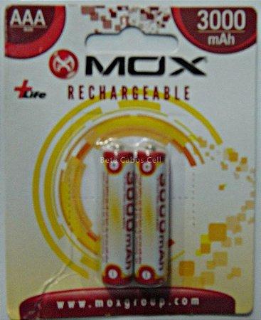 Pilha Recarregavel MOX AAA