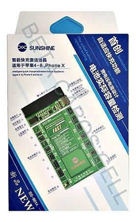 Placa Reativadora De Bateria Sunshine Ss-901a iPhone 4 Ao X