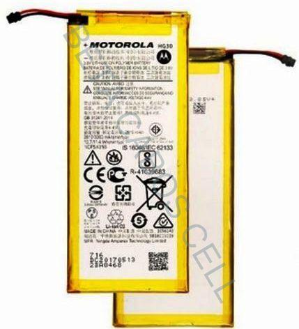 Bateria para Motorola G5S Plus XT1802 Hg30 3000 Mah
