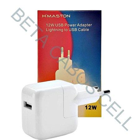 Fonte Adaptador Lightning iPhone H-Maston 12W CB-06