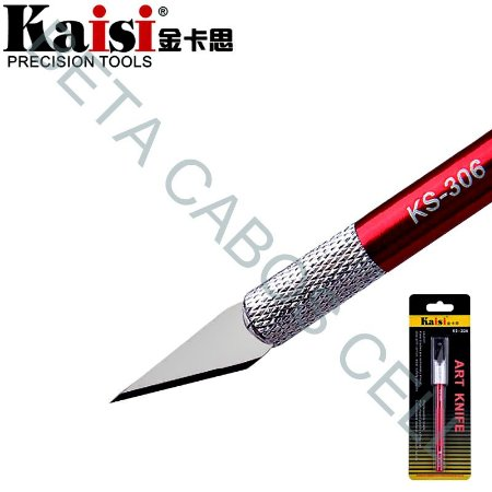 Bisturi Lâmina Kaisi KS-306 KS 306 Art Knife