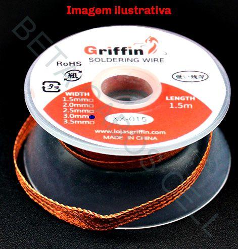 Malha Dessoldadora XX-2515  2.5mm x 1,5m  Griffin