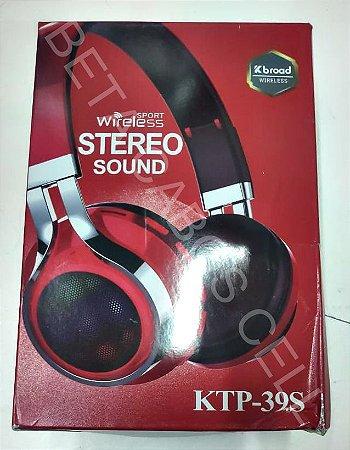 Fone Bluetooth KTP 39S