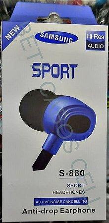 Fone P2 Intra Auricular Estilo Samsung Sport S-880