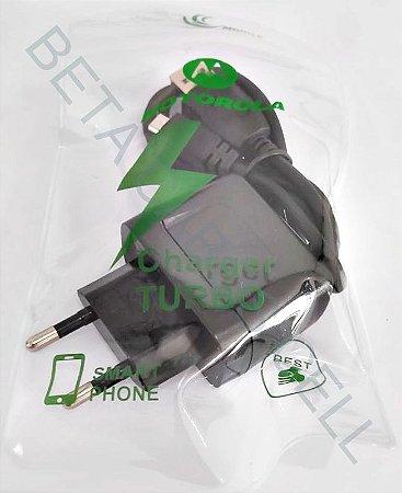 Carregador Estilo Motorola Saquinho 2.1A -B