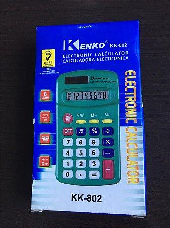 calculadora eletrônica Kenko KK-802