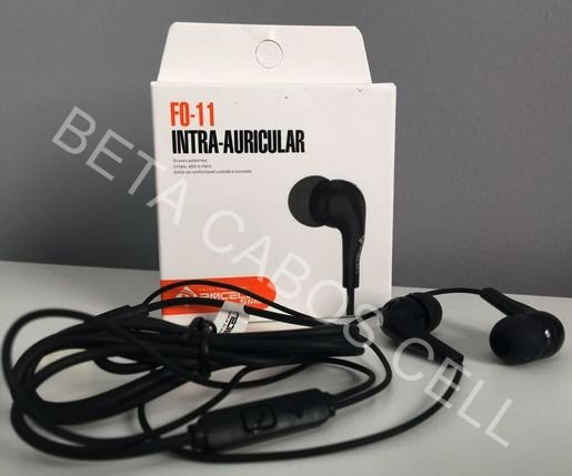 Fone De Ouvido PmCell Fo 11 Headphone Slim