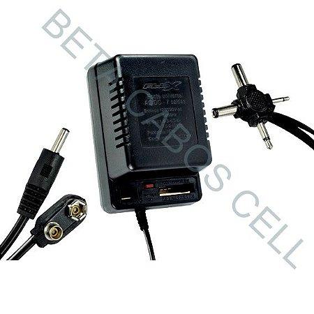 Fonte Universal Bivolt Ad-1000 1000ma 110Fonte Universal Bivolt Ad-100 1000ma 110V/220V