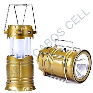 Lanterna Recarregável Solar 6 Led Cl-5800t