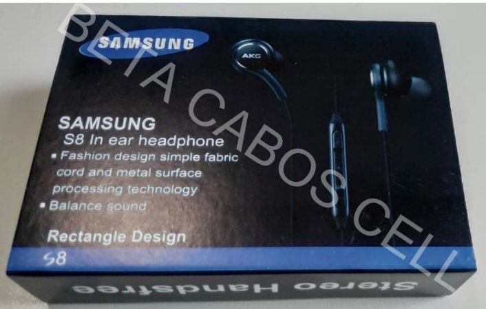 Fone P2 Intra Sam. S8 In Ear Headphone