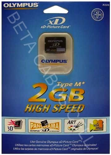 Cartão 2gb Olympus Memoria Xd Picture Card Type M-xd2gb