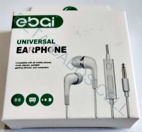 Fone De Ouvido Intra Auricular Universal Earphone EBAI 315