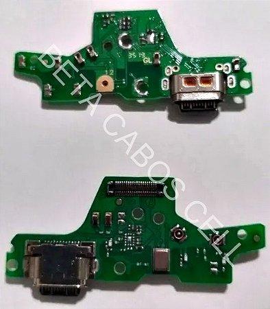 Placa Conector De Carga Usb Microfone para Motorola Moto G8 Plus