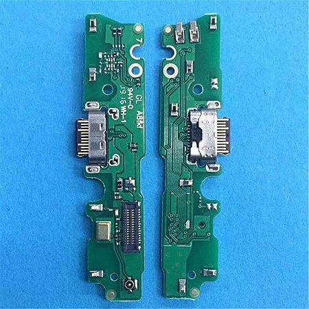 Placa Conector De Carga Usb Microfone Motorola Moto G7 Play