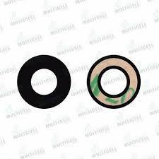 Lente Vidro Camera Traseira Moto One Conjunto