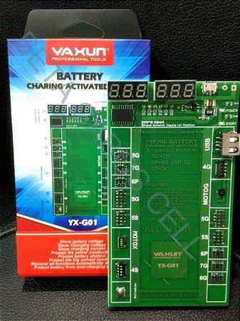 Placa Reativadora Bateria Yaxun Yx G01 Moto G Moto X iPhone