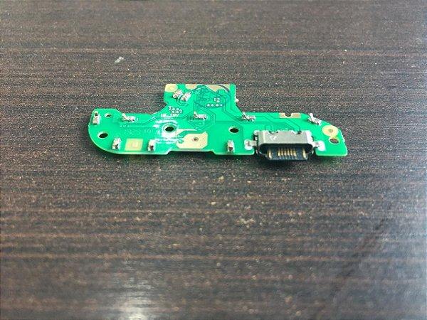 Placa Conector De Carga Usb Microfone Motorola Moto G8 Play