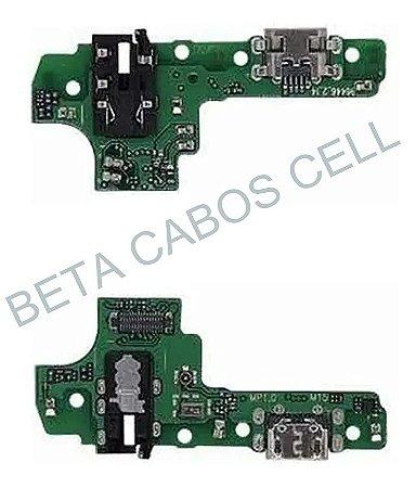 Flex Conector De Carga com Microfone Samsung Galaxy A10s A107