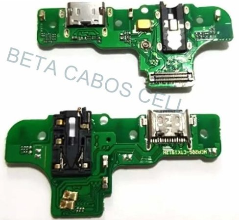 Placa Conector De Carga com Microfone Samsung Galaxy A20s A207