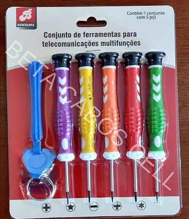 Conjunto Chave Barcelona Bar 70388-20