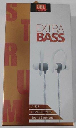 Fone Extra Bass Estilo JBL A-537 Headphones