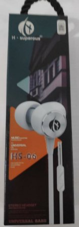 Fones H Superous Intra Auricular HS 06