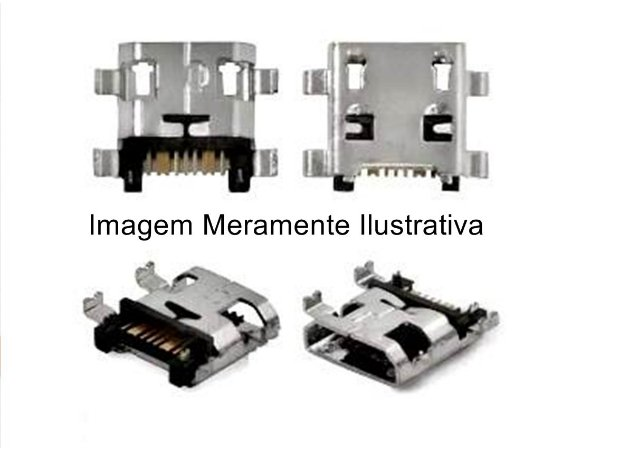 Conector Carga para Motorola G7  G7+ Plus