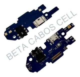 Conector De Carga Placa Dock Flex Usb para Samsung A10 com Microfone