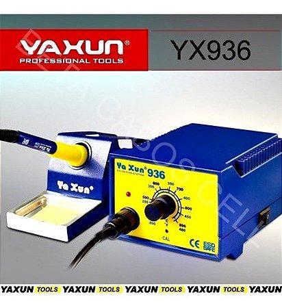 Máquina Estação De Solda Yaxun YX 936 YX936 110V