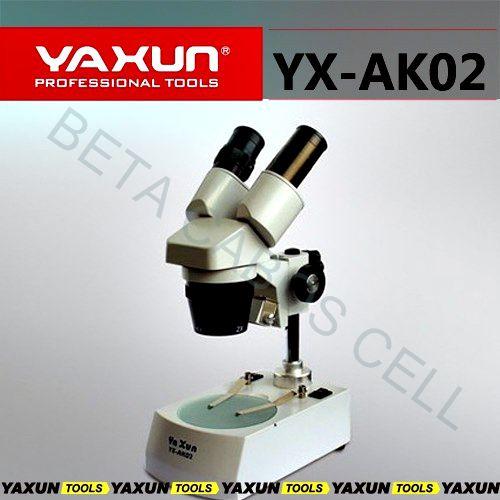 Microscópio Estereoscópico Binocular Yaxun Yx-ak02 110v YX AK02 YX AK 02
