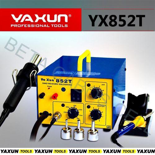 Estação Solda Retrabalho 3 em 1 Yaxun YX 852T 220v