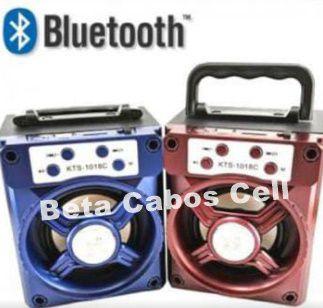 Caixa De Som Bluetooth KTS 1018C
