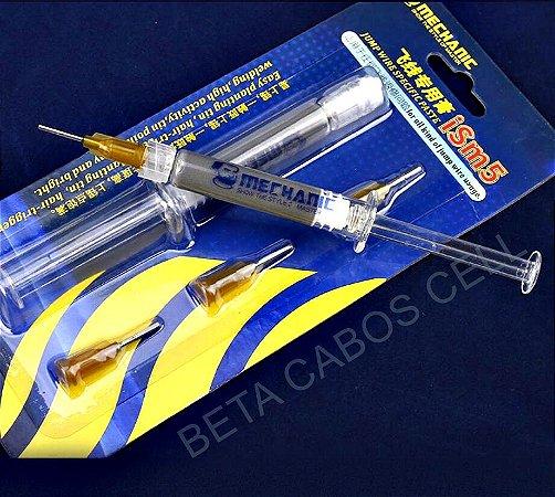 Pasta de Solda Mechanic ISM5 3 ML Pasta Estanho Mechanic iSm5 para Reparos