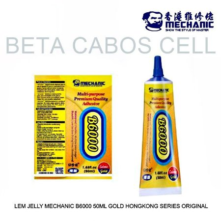 Cola Premium Mechanic B6000 50ml Dourada