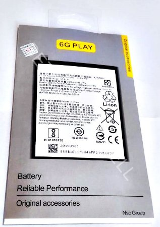 Bateria para Moto G6 Play Xt1922 Xt1922-5 BL 270 BL270 AAA Alta Qualidade