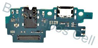 Conector De Carga Placa Dock Flex Usb para Samsung A21s com Microfone