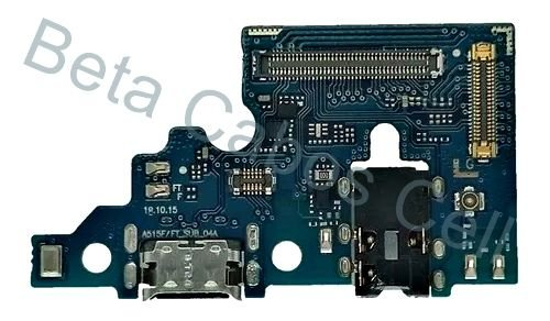 Flex Placa Conector De Carga com Microfone Samsung Galaxy A51